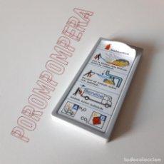 Playmobil: PLAYMOBIL [CARTEL INSTRUCCIONES ESTACIÓN CENTRAL DE BOMBEROS 4065 RESCATE EMERGENCIAS 2004] FØ1. Lote 141126214