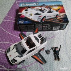 Playmobil - PLAYMOBIL LOTE 4876 TOP AGENTS COMPLETO - 141182526