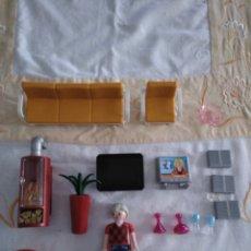 Playmobil: PLAYMOBIL SALON MODERNO CON CHIMENEA QUE ENCIENDE. Lote 141326649