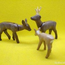 Playmobil: PLAYMOBIL FAMILIA DE CIERVOS. Lote 141443506