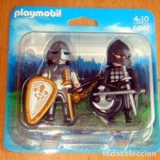 Playmobil: PLAYMOBIL SOLDADOS MEDIEVALES 6847 NUEVO ESTRENAR DE TIENDA LOTE 5. Lote 141450358