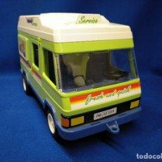 Playmobil: PLAYMOBIL FURGONETA DE FRUTA CON RAMPA REF 3204. Lote 141495314