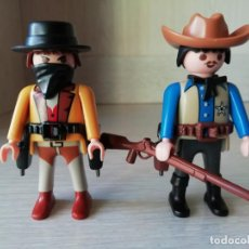 Playmobil: PLAYMOBIL, LOTE, CUSTOM, OESTE, WESTERN, VAQUEROS, INDIOS, SHERIFF, VANDIDOS.. Lote 141495502