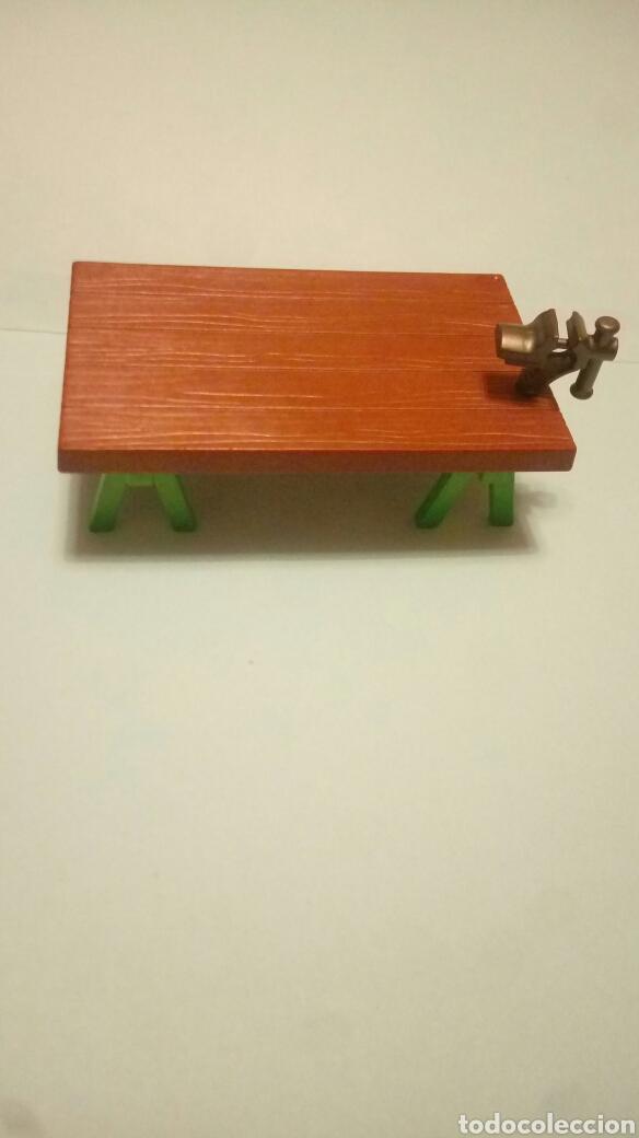Torno Caballete Vendido Madera Mesa En Venta Playmobil Trabajo CWQBeErdxo