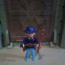 Playmobil: PLAYMOBIL SOLDADO NORDISTA FUERTE, OESTE, WESTERN. Lote 142488834