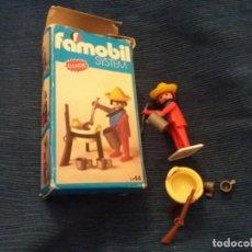 Playmobil: CLICK FAMOBIL SYSTEM FAMOSA AÑO 1975 CAJA REF 3344 FIGURA MEJICANO Y FOLLETO. Lote 142798342