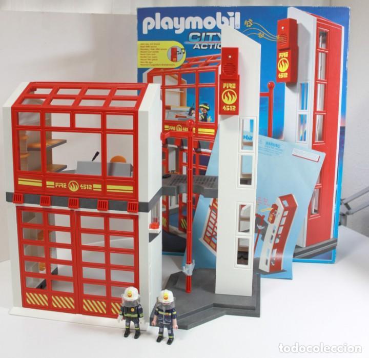 Playmobil Ref 5361 Estación De Bomberos Con Al Comprar Playmobil