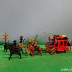Playmobil: PLAYMOBIL -REF-3245-DILIGINCIA 1ª GENERACION,+ BANDIDOS. Lote 142942218