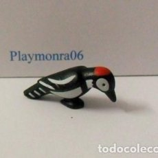 Playmobil: PLAYMOBIL C107 ANIMAL PAJARO CARPINTERO IDEAL ESCENAS AFRICA ZOO BOSQUES. Lote 209823036