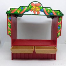Playmobil: PLAYMOBIL PARADA MERCADILLO NAVIDEÑO REFERENCIA 4891 ESCENARIO NAVIDAD 2. Lote 143175110