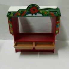 Playmobil: PLAYMOBIL 4891 MERCADO NAVIDEÑO NAVIDAD TIENDA COMIDA BELÉN MEDIEVAL CIUDAD. Lote 143214914