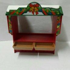 Playmobil: PLAYMOBIL, 4891 NAVIDAD PUESTO TIENDA NAVIDEÑA MERCADO MEDIEVAL CIUDAD COMIDA. Lote 143215033