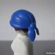 Playmobil: PLAYMOBIL PAÑUELO PIRATA AZUL GORRO. Lote 143215086