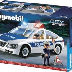 Playmobil: COCHE DE POLICÍA CON LUCES. NUEVO. EN SU CAJA ORIGINAL.. Lote 143242574