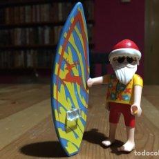 Playmobil: PAPÁ NOEL SURFERO PLAYMOBIL. Lote 143307241