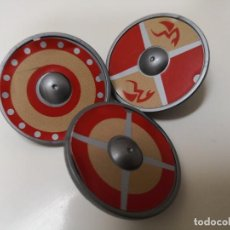 Playmobil: 3 ESCUDOS PLAYMOBIL SERIE VIKINGO. Lote 143537042