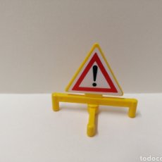 Playmobil: PLAYMOBIL, SEÑAL OBRA PATAS BASE CIUDAD. Lote 143572645