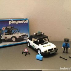 Playmobil: PLAYMOBIL CAJA REF 3149 COCHE POLICIA AÑO 1984 EPOCA FAMOBIL. Lote 143602918