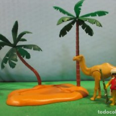 Playmobil: PLAYMOBIL-PALMERAS-ARABE-CAMELLO-EGIPTO- BELEN-CASTILLO-DESIERTO,EGIPTO--PIEZAS. Lote 144215998