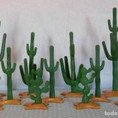 Playmobil: PLAYMOBIL CACTUS DESIERTO, OESTE, VAQUEROS. Lote 144559266