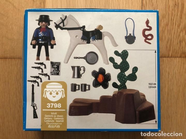 Playmobil: PLAYMOBIL NUEVO 3798 CAZARRECOMPENSAS BANDIDO OESTE WESTERN DESCATALOGADO CAJA - Foto 2 - 144655106