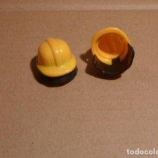 Playmobil: LOTE CASCOS BOMBERO. PLAYMOBIL. Lote 145298766