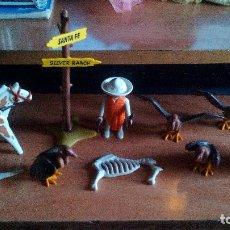 Playmobil: PLAYMOBIL, OESTE, WESTERN, VAQUEROS, PISTOLEROS, LOTE - ZXY. Lote 145527126