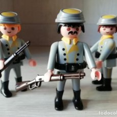 Playmobil: PLAYMOBIL, LOTE,CUSTOM, SOLDADOS, OESTE, WESTERN, NORDISTAS, SUDISTAS, INFANTERIA, OFICIAL. Lote 186667801