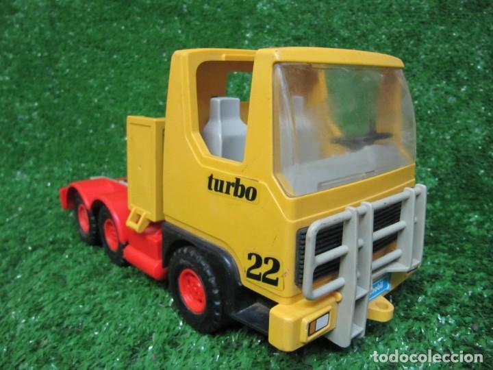 CAMION TRACTORA PLAYMOBIL MAMMUT POWER TURBO 22 REF.3141 AÑO 1986 (Juguetes - Playmobil)