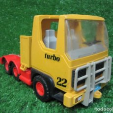Playmobil: CAMION TRACTORA PLAYMOBIL MAMMUT POWER TURBO 22 REF.3141 AÑO 1986. Lote 145873126