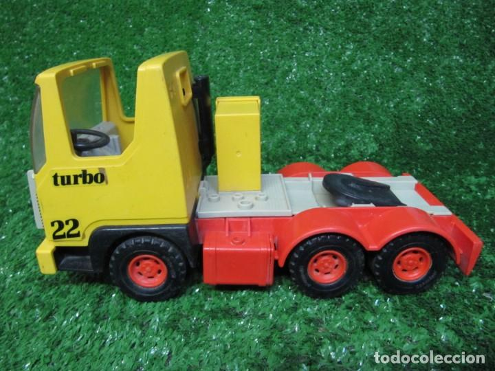 Playmobil: Camion tractora PLAYMOBIL Mammut Power Turbo 22 REF.3141 AÑO 1986 - Foto 2 - 145873126