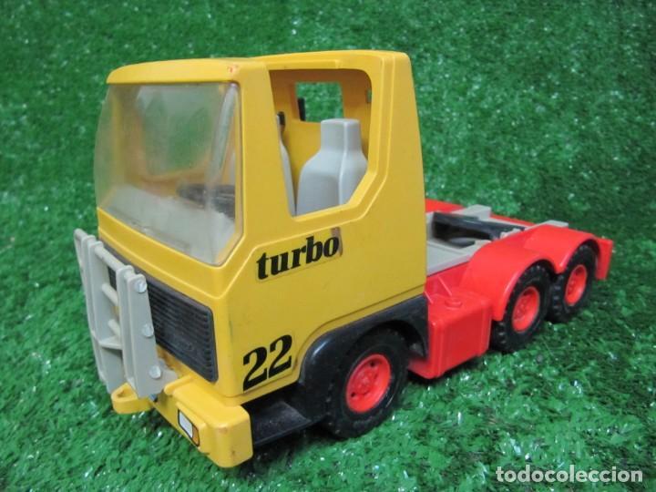 Playmobil: Camion tractora PLAYMOBIL Mammut Power Turbo 22 REF.3141 AÑO 1986 - Foto 3 - 145873126