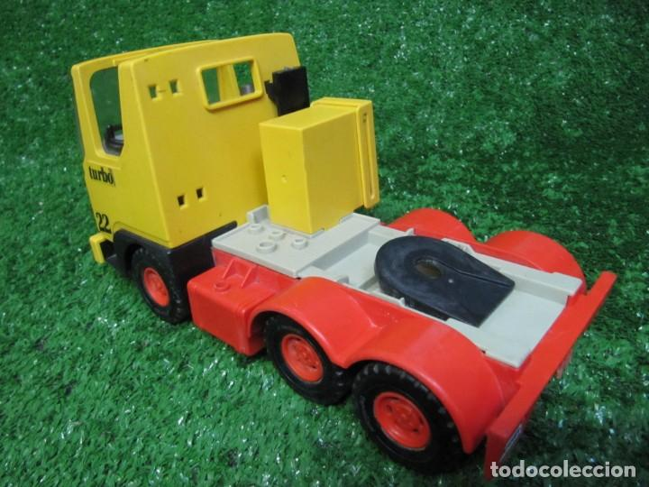 Playmobil: Camion tractora PLAYMOBIL Mammut Power Turbo 22 REF.3141 AÑO 1986 - Foto 8 - 145873126