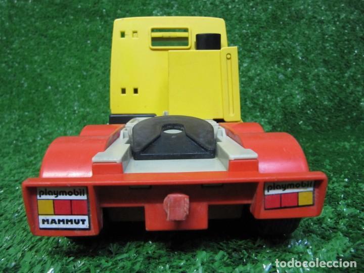 Playmobil: Camion tractora PLAYMOBIL Mammut Power Turbo 22 REF.3141 AÑO 1986 - Foto 9 - 145873126