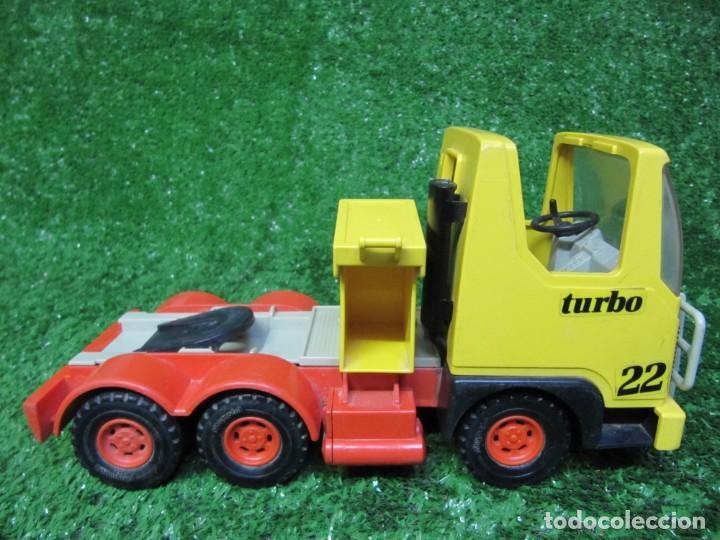Playmobil: Camion tractora PLAYMOBIL Mammut Power Turbo 22 REF.3141 AÑO 1986 - Foto 12 - 145873126