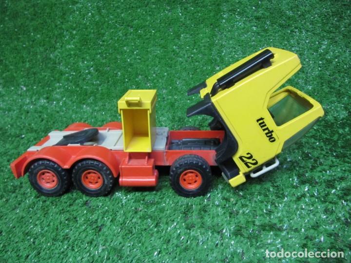 Playmobil: Camion tractora PLAYMOBIL Mammut Power Turbo 22 REF.3141 AÑO 1986 - Foto 13 - 145873126