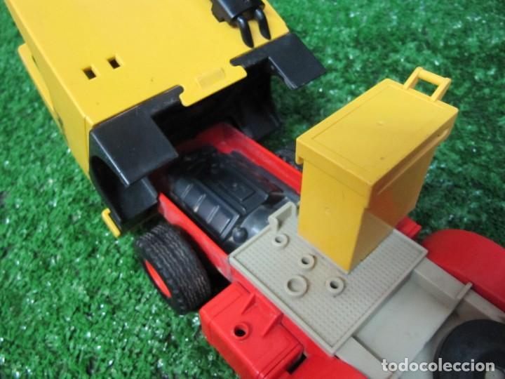 Playmobil: Camion tractora PLAYMOBIL Mammut Power Turbo 22 REF.3141 AÑO 1986 - Foto 14 - 145873126
