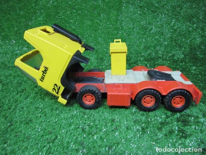 Playmobil: Camion tractora PLAYMOBIL Mammut Power Turbo 22 REF.3141 AÑO 1986 - Foto 15 - 145873126