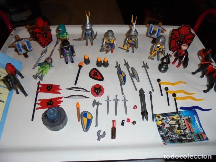 Playmobil: PLAYMOBIL MEDIEVAL LOTE VARIADO MUÑECOS Y ACCESORIOS.ESCUDO,TORRE DRAGON,,,,,, - Foto 2 - 145910422