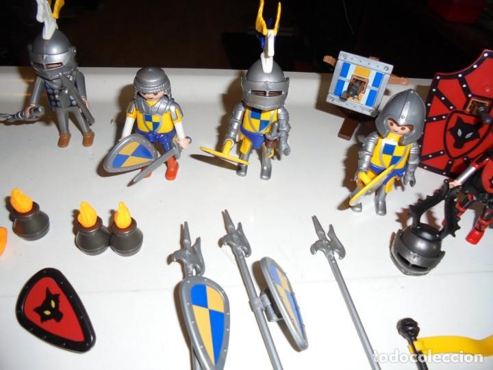 Playmobil: PLAYMOBIL MEDIEVAL LOTE VARIADO MUÑECOS Y ACCESORIOS.ESCUDO,TORRE DRAGON,,,,,, - Foto 4 - 145910422