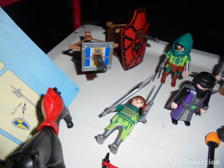 Playmobil: PLAYMOBIL MEDIEVAL LOTE VARIADO MUÑECOS Y ACCESORIOS.ESCUDO,TORRE DRAGON,,,,,, - Foto 6 - 145910422