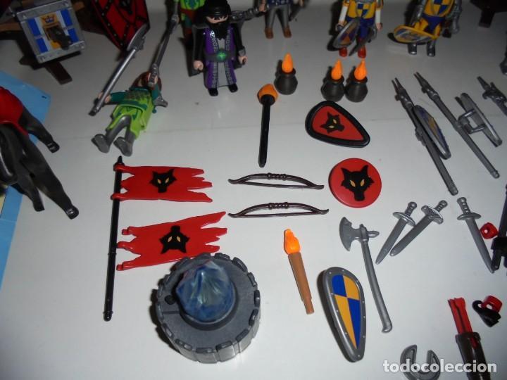 Playmobil: PLAYMOBIL MEDIEVAL LOTE VARIADO MUÑECOS Y ACCESORIOS.ESCUDO,TORRE DRAGON,,,,,, - Foto 7 - 145910422