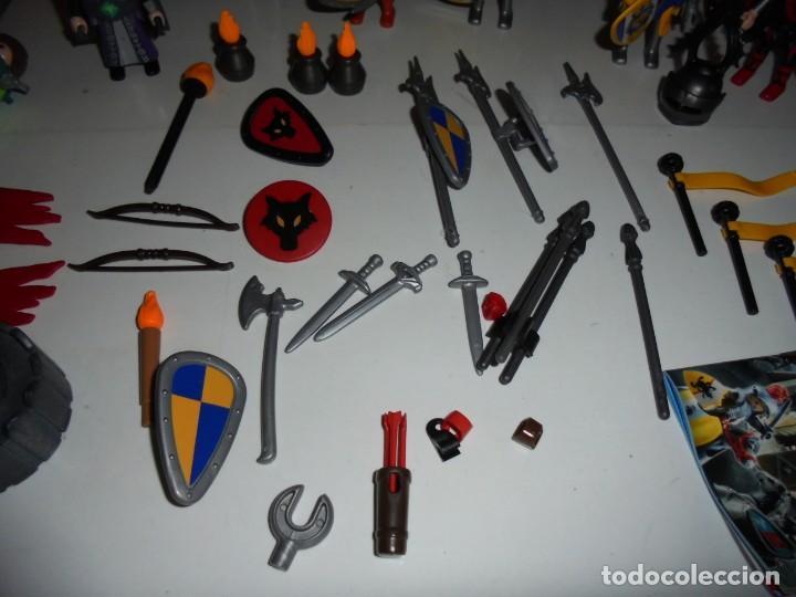 Playmobil: PLAYMOBIL MEDIEVAL LOTE VARIADO MUÑECOS Y ACCESORIOS.ESCUDO,TORRE DRAGON,,,,,, - Foto 8 - 145910422
