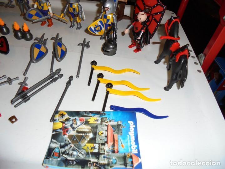Playmobil: PLAYMOBIL MEDIEVAL LOTE VARIADO MUÑECOS Y ACCESORIOS.ESCUDO,TORRE DRAGON,,,,,, - Foto 9 - 145910422