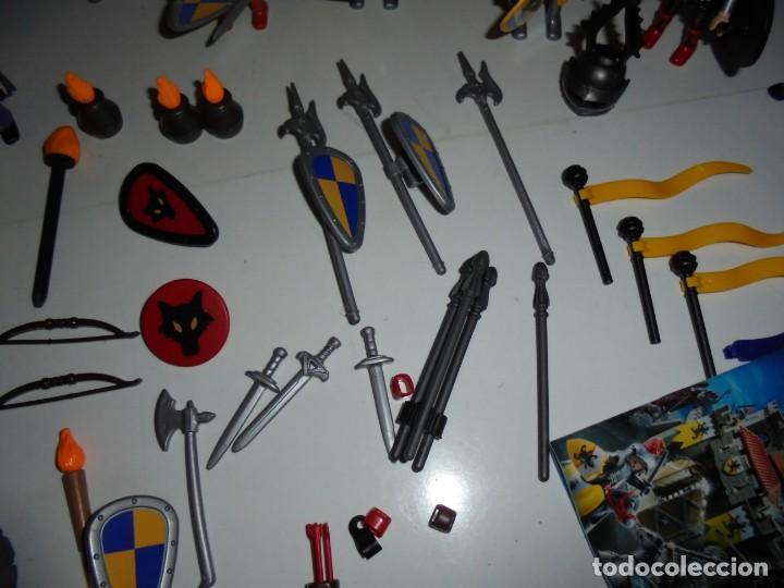 Playmobil: PLAYMOBIL MEDIEVAL LOTE VARIADO MUÑECOS Y ACCESORIOS.ESCUDO,TORRE DRAGON,,,,,, - Foto 11 - 145910422