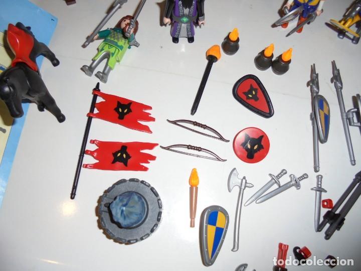 Playmobil: PLAYMOBIL MEDIEVAL LOTE VARIADO MUÑECOS Y ACCESORIOS.ESCUDO,TORRE DRAGON,,,,,, - Foto 12 - 145910422
