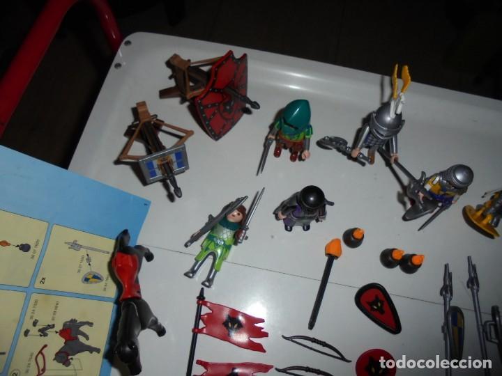 Playmobil: PLAYMOBIL MEDIEVAL LOTE VARIADO MUÑECOS Y ACCESORIOS.ESCUDO,TORRE DRAGON,,,,,, - Foto 13 - 145910422