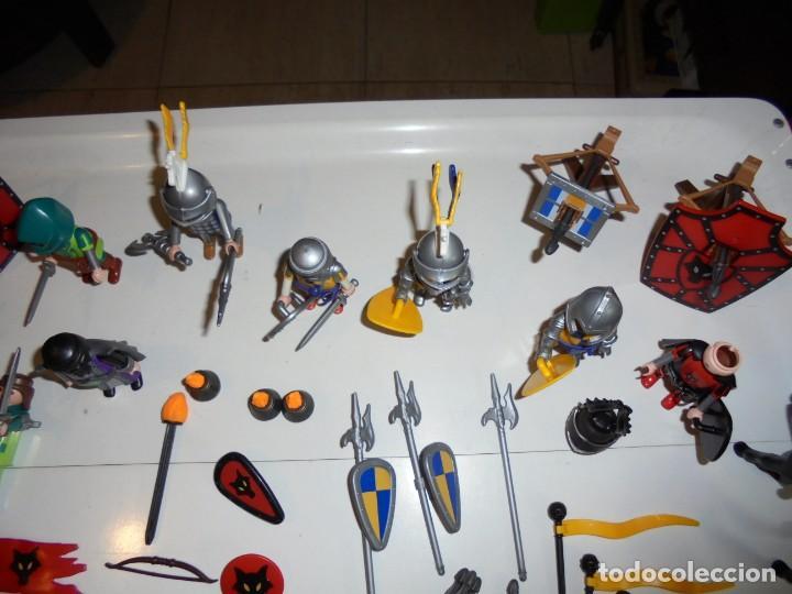 Playmobil: PLAYMOBIL MEDIEVAL LOTE VARIADO MUÑECOS Y ACCESORIOS.ESCUDO,TORRE DRAGON,,,,,, - Foto 14 - 145910422