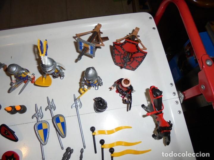 Playmobil: PLAYMOBIL MEDIEVAL LOTE VARIADO MUÑECOS Y ACCESORIOS.ESCUDO,TORRE DRAGON,,,,,, - Foto 15 - 145910422