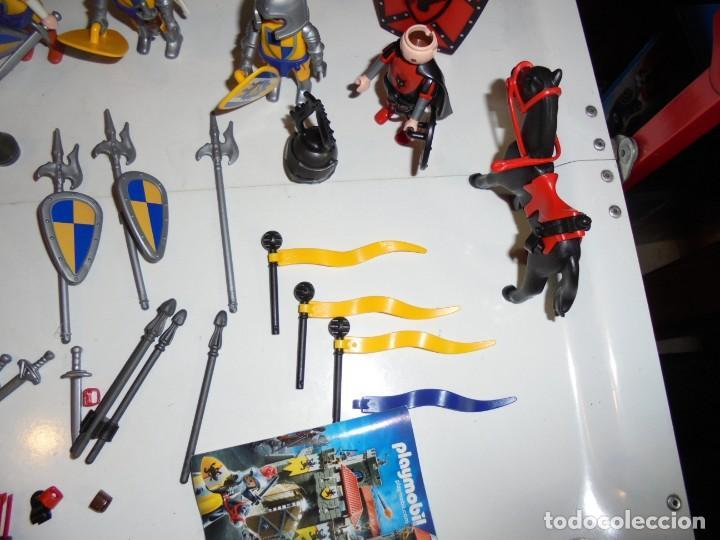 Playmobil: PLAYMOBIL MEDIEVAL LOTE VARIADO MUÑECOS Y ACCESORIOS.ESCUDO,TORRE DRAGON,,,,,, - Foto 16 - 145910422